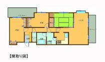 ライオンズマンション新居浜徳常町 203号室の間取り