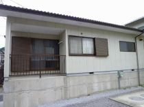 長堀山下住宅平屋2SDK(車庫上)の外観写真