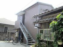 昭和町売アパートの外観写真