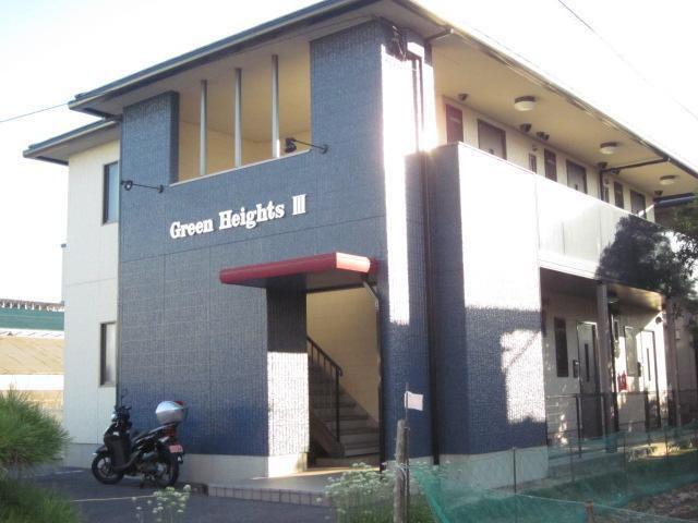 グリーンハイツIIIの外観写真