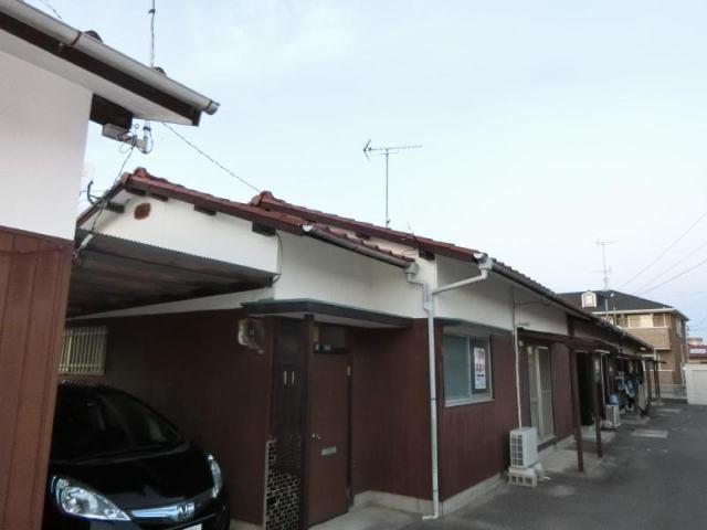 喜田村7丁目青井借家の外観写真