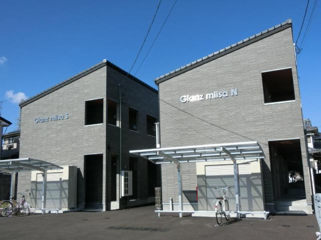 Glanz miisa N棟 S棟の外観写真