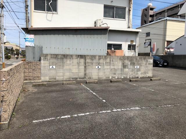 西門駐車場の外観写真