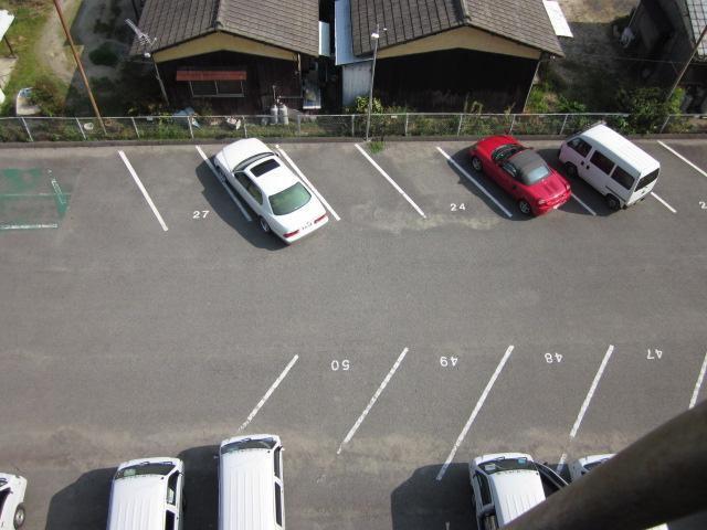 大永ビル月極駐車場の間取り