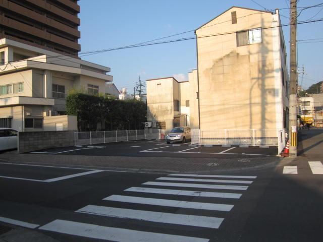 伊予鉄古町第2月極駐車場の外観写真