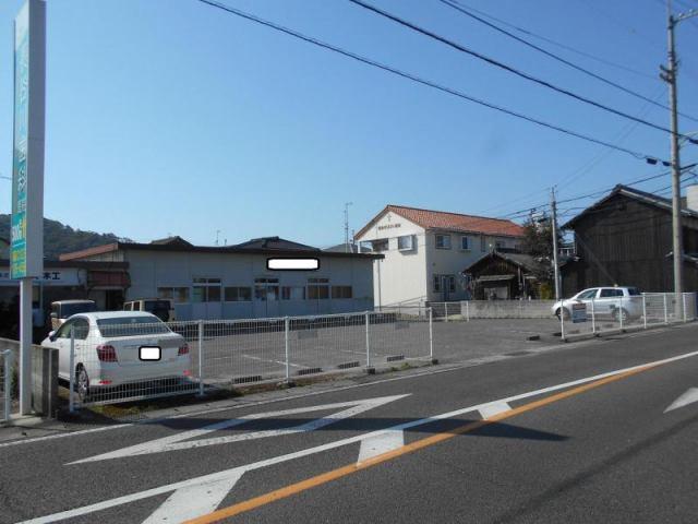 伊予鉄北条月極駐車場の外観写真