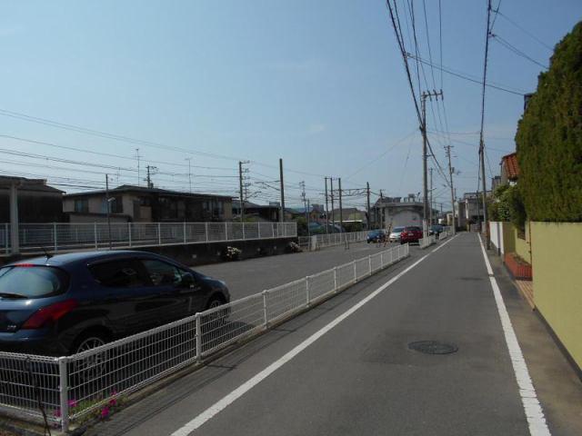 伊予鉄地蔵町駅月極駐車場の外観写真