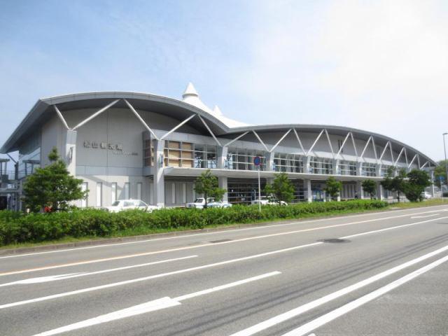 松山観光港ターミナルの外観写真