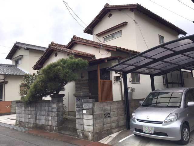 松山市下伊台町の外観写真