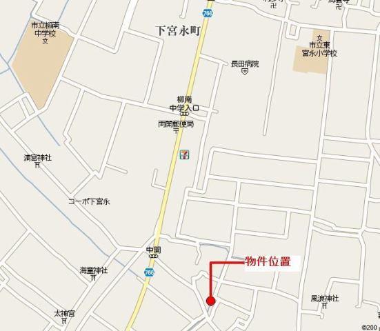 柳川市佃町売り地の外観写真