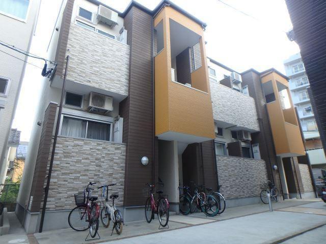 グレイスパル箱崎の外観写真