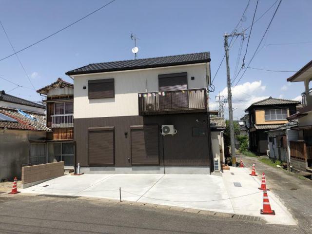 水田町新築住宅の外観写真
