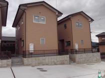 植木町一木新築戸建の外観写真