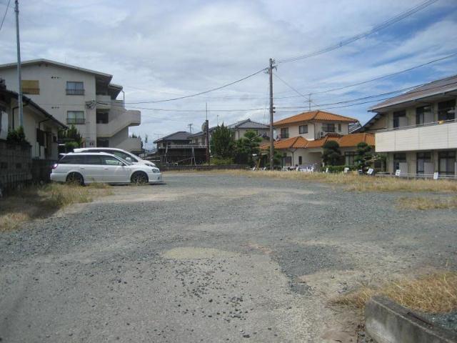井嶋月極駐車場の外観写真