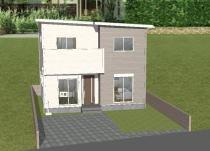 岡冨建売住宅2号地の外観写真