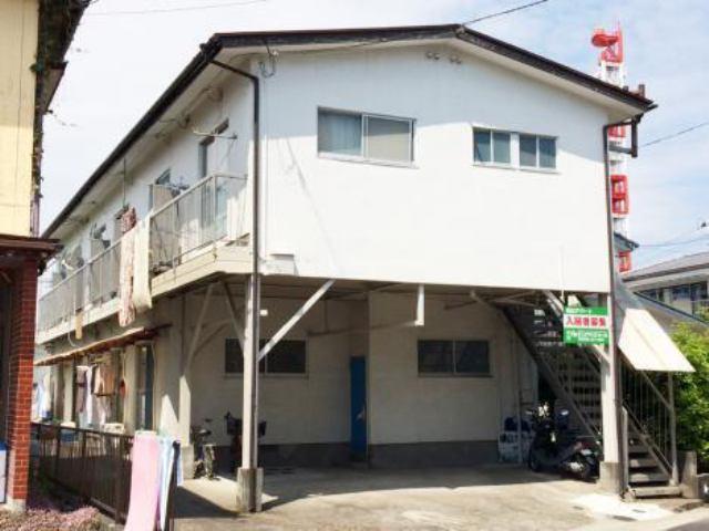 横山アパートの外観写真