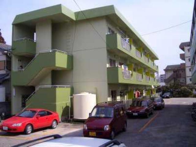 鈴木グリーンハイツA棟の外観写真