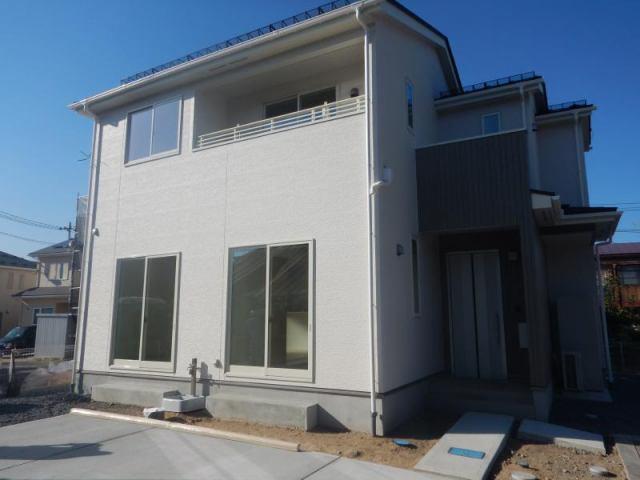 御旗町新築住宅1棟の外観写真