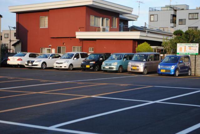浅沼産業山鹿町駐車場の外観写真