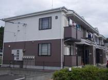 オーブリー吉田 B棟の外観写真