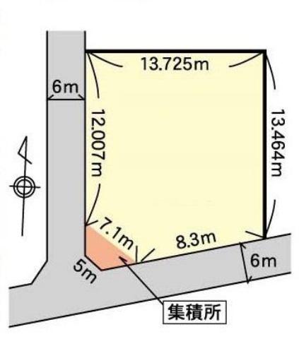 鹿嶋市平井1329-42の間取り
