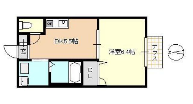 株式会社かとうホーム 間取り 1DK