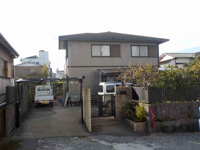 有限会社グローバル住宅 外観写真 高知県高知市桟橋通 広い敷地 5LDK 中古一戸建の外観写真