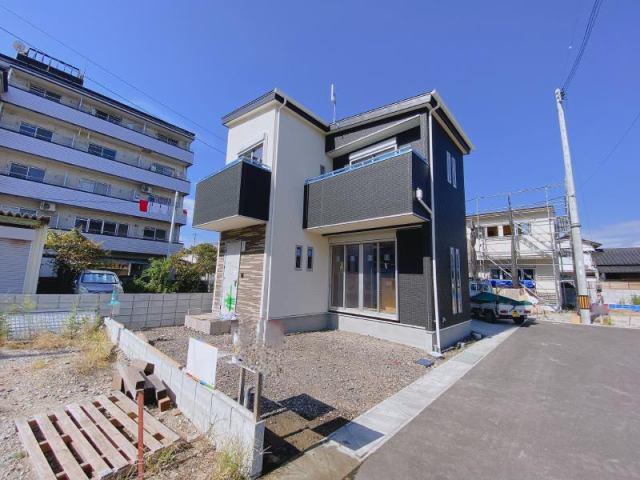 有限会社グローバル住宅 外観写真 モデルハウス建築中