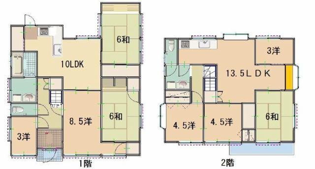 有限会社グローバル住宅 間取り お部屋数・収納も多くあります