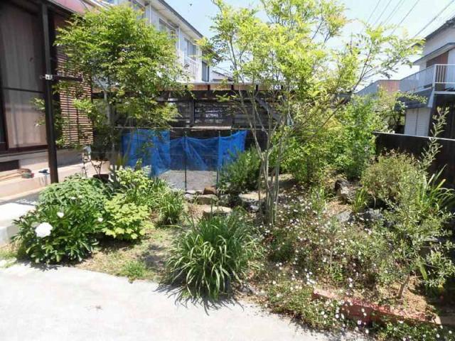 有限会社グローバル住宅 内観写真 南向きで日当たりの良いお庭
