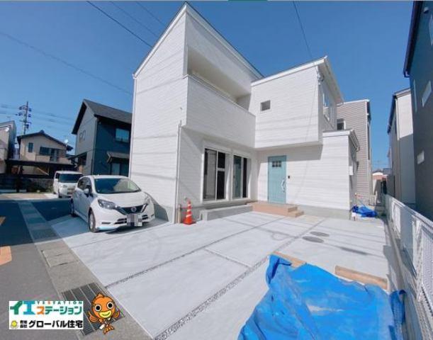 有限会社グローバル住宅 外観写真 朝倉横町 新築住宅 3LDK