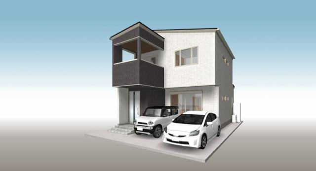 有限会社グローバル住宅 外観写真 高知市秦南町2丁目 新築住宅の外観写真