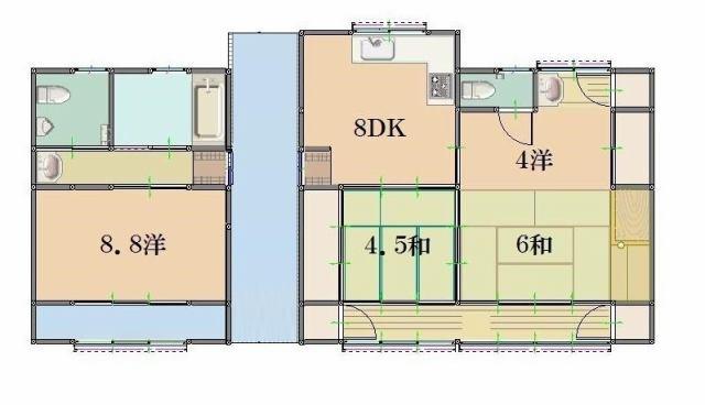 有限会社グローバル住宅 間取り 4DK