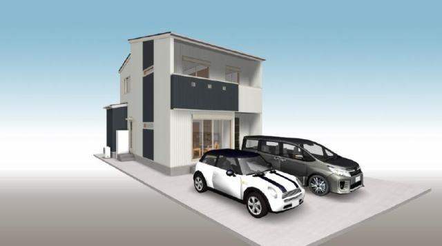 有限会社グローバル住宅 外観写真 香南市野市町西野 建築条件付 新築住宅の外観写真