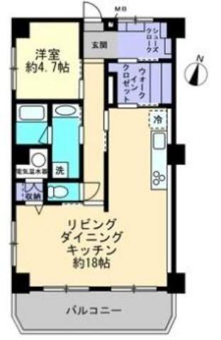 有限会社グローバル住宅 間取り 高知市追手筋 全面リフォーム 分譲マンションの間取り