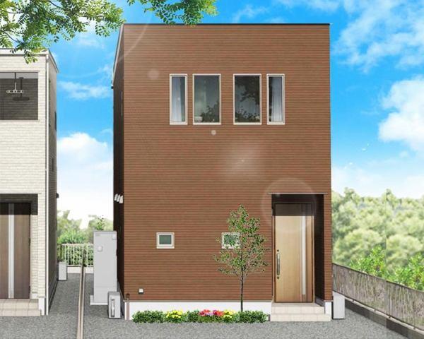 有限会社グローバル住宅 外観写真 高知市神田 オール電化住宅 新築一戸建ての外観写真