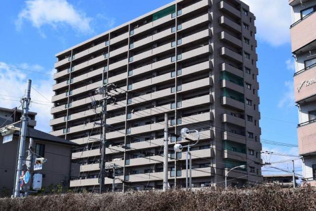 有限会社グローバル住宅 外観写真 高知市通町 南向き サーパス通町一番館 4LDKの外観写真