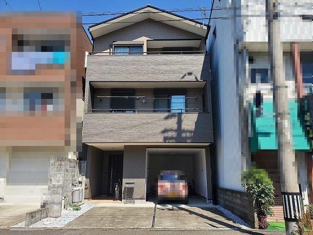 有限会社グローバル住宅 外観写真 高知市城見町 南向き 中古住宅 4LDKの外観写真