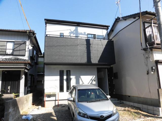 有限会社グローバル住宅 外観写真 神田新築住宅 耐震等級3