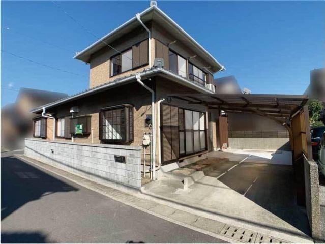 有限会社グローバル住宅 外観写真 高知市中万々 中古住宅5LDK リフォーム済みの外観写真