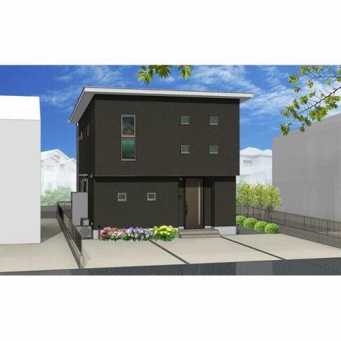 有限会社グローバル住宅 外観写真 高知市針木本町 新築一戸建て 耐震等級3相当 3Lの外観写真