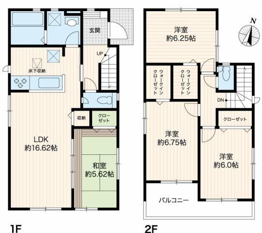 有限会社グローバル住宅 間取り 香美市土佐山田町宝町 耐震等級3の新築4LDKの間取り