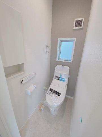 有限会社グローバル住宅 内観写真 1階トイレ