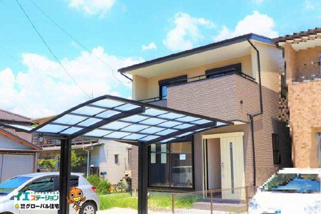 有限会社グローバル住宅 外観写真 朝倉本町新築住宅 4LDK