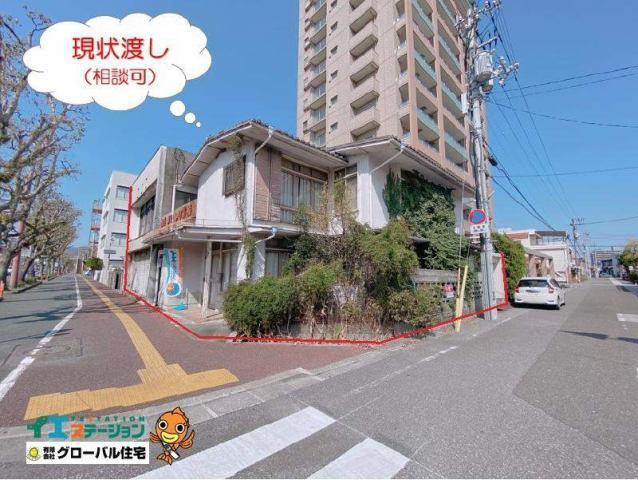 有限会社グローバル住宅 外観写真 高知市桟橋通電車通沿い南西角地 売り土地 約76坪の外観写真