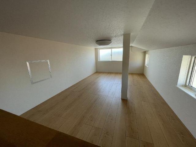有限会社グローバル住宅 内観写真 3階屋根裏部屋