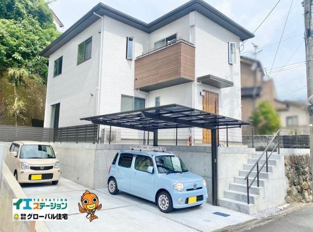 有限会社グローバル住宅 外観写真 高知市西秦泉寺 日当たりのいい築浅中古住 3LDKの外観写真