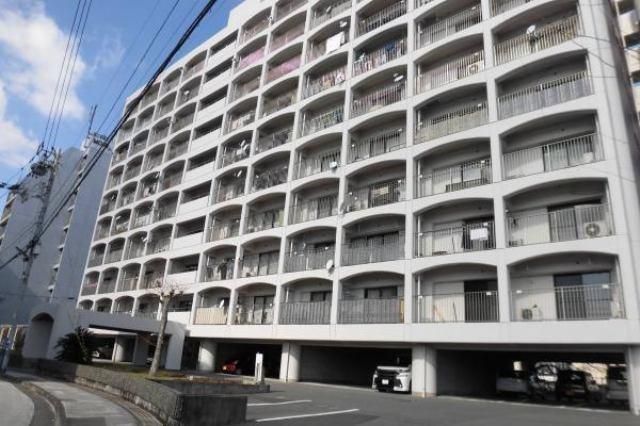 有限会社グローバル住宅 外観写真 高知市中の島 中の島マンション 3LDKの外観写真