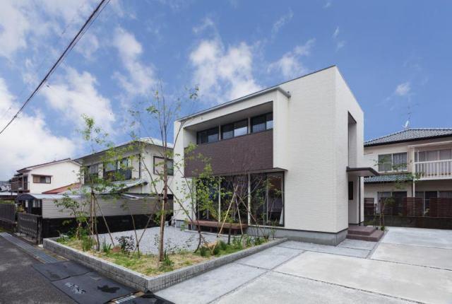 有限会社グローバル住宅 外観写真 高知市介良 モデルハウス 3SLDKの外観写真