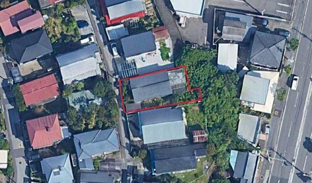 有限会社グローバル住宅 間取り 高知市瀬戸西町 売り土地 約83坪の間取り